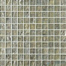 1x1 Gold Leaf Glass Mosaic Tile VG-GFB86