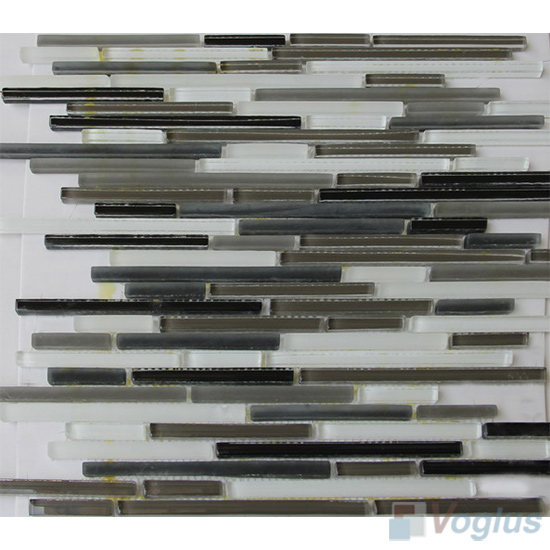 Bullet Glass Metal Mosaic Tiles VB-GMH85