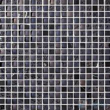 15x15mm Rough Metal Plated Glass Mosaic Tiles VG-PTA92