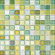 1x1 Rough Metal Plated Glass Mosaic Tiles VG-PTB92