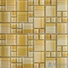 Magic Cube Hand Painted Glass Mosaic VG-HPM61