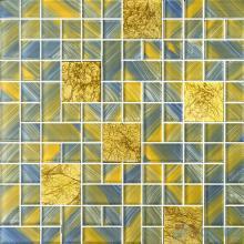 Magic Cube Hand Painted Glass Mosaic VG-HPM69