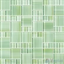 Magic Cube Hand Painted Glass Tile VG-HPM85