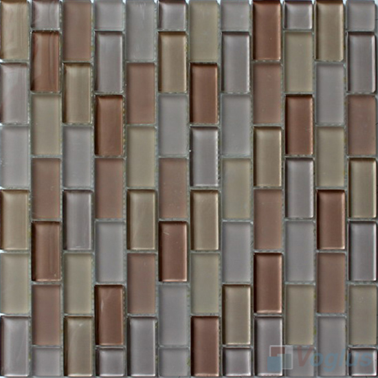 Desert Acchor Crystal Glass Mosaic Tiles VG-CYV90