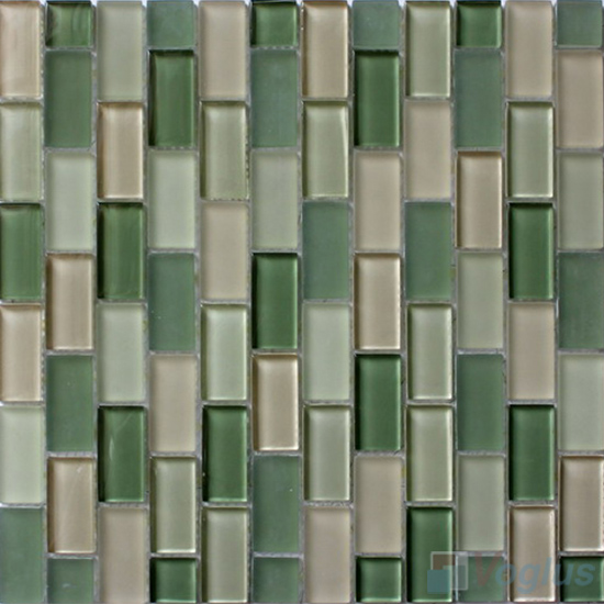 Eton Blue Acchor Crystal Glass Mosaic Tiles VG-CYV92