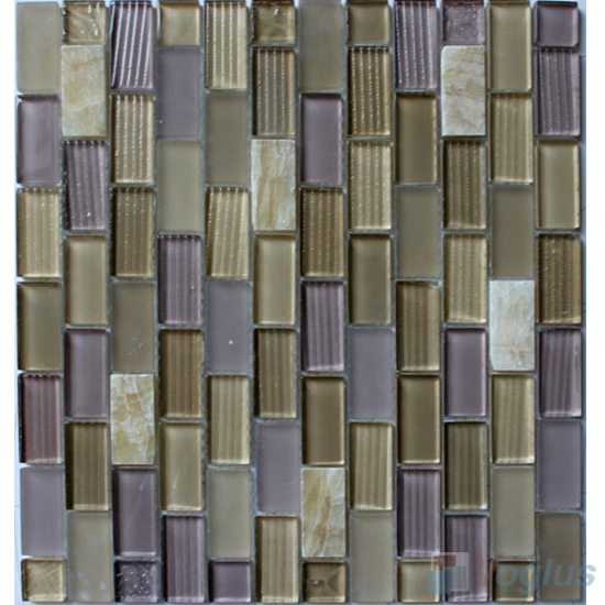 Milano Acchor Crystal Glass Mosaic Tiles VG-CYV98