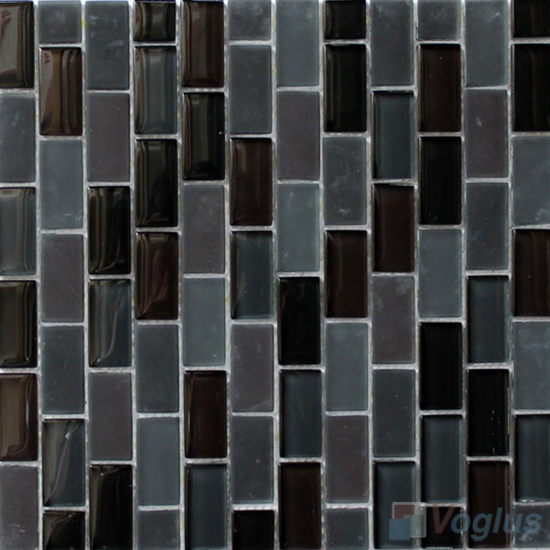 Night Star Acchor Crystal Glass Mosaic Tiles VG-CYV87