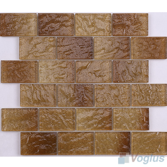 Brown Wall Tiles Glass Brick VG-CYK97