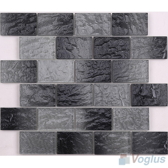 Gray Wall Tiles Glass Brick VG-CYK95