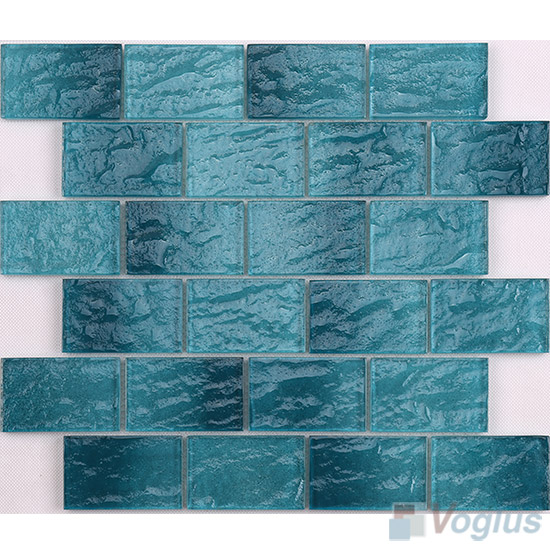 Green Wall Tiles Glass Brick VG-CYK99