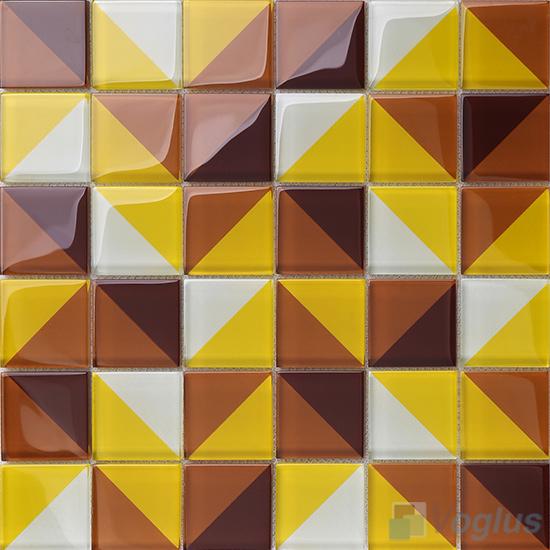 Heritage Coffee Back-printed Crystal Mosaic VG-CYH97