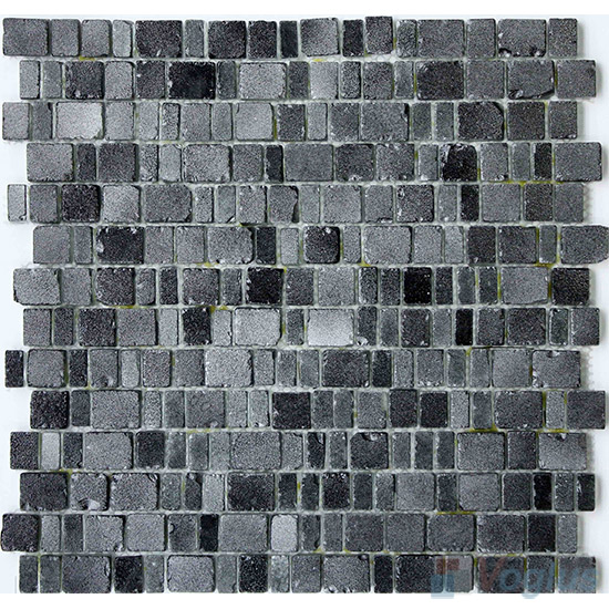 Silver Master Rusty Rock Glass Mosaic Tiles VG-URY99