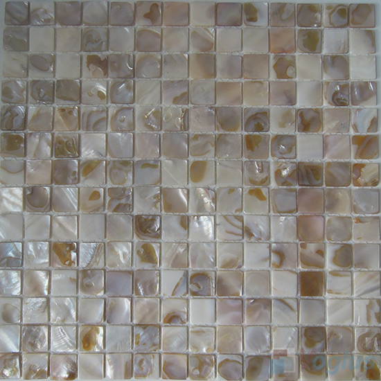 20x20mm Mother of Pearl Shell Mosaic Tiles VH-HT86