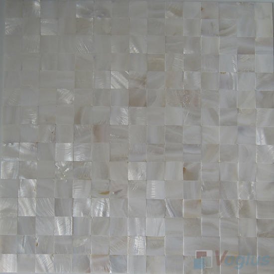 Jointless Mother of Pearl Shell Mosaic Tiles VH-JL94