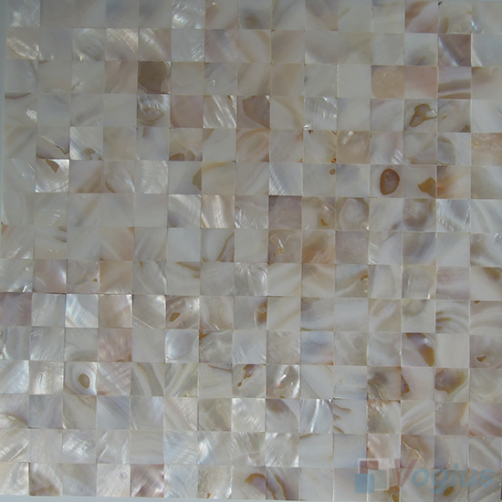 Jointless Mother of Pearl Shell Mosaic Tiles VH-JL95