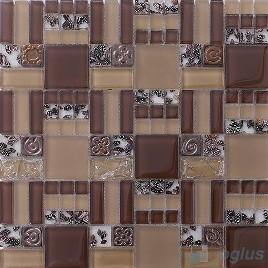 Miscellaneous Glass Blend Resin Mosaic VB-GRM85