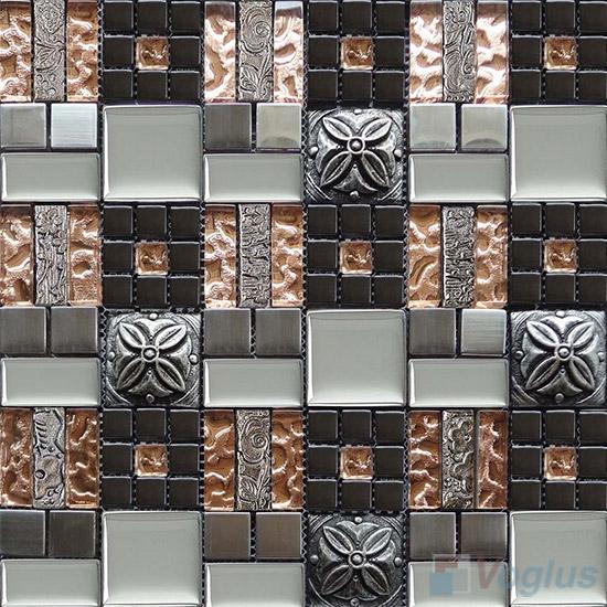 Miscellaneous Glass Blend Resin Mosaic VB-GRM89