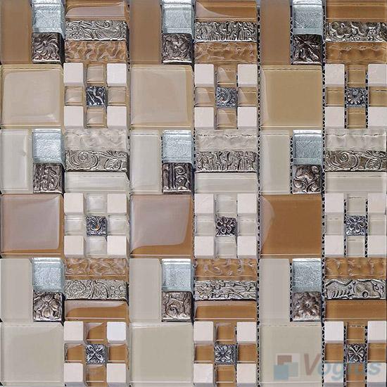 Miscellaneous Glass Blend Resin Mosaic VB-GRM90