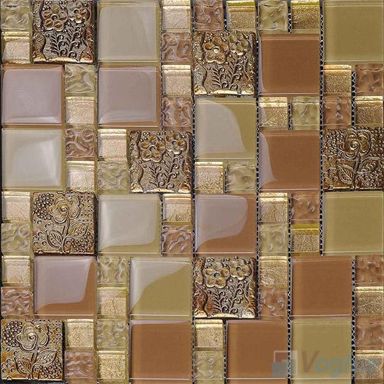 Miscellaneous Glass Blend Resin Mosaic VB-GRM91