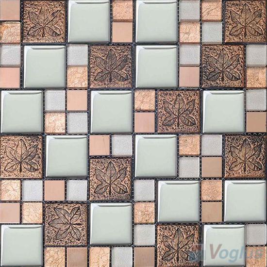 Miscellaneous Glass Blend Resin Mosaic VB-GRM92