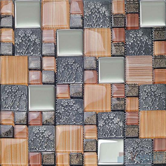 Miscellaneous Glass Blend Resin Mosaic VB-GRM93