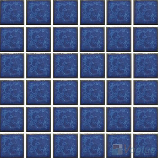 Blue 2x2 Glazed Ceramic Mosaic Tiles VC-GZ98