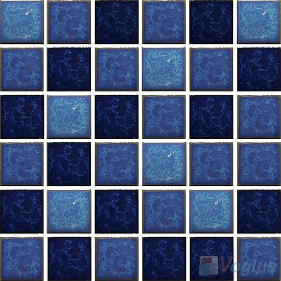 Blue Blend 2x2 Glazed Ceramic Mosaic VC-GZ95