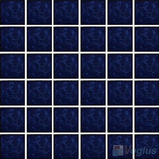 Dark Blue 2x2 Glazed Ceramic Mosaic VC-GZ99