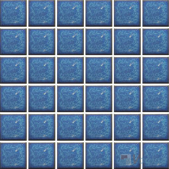 Light Blue 2x2 Glazed Ceramic Mosaic Tiles VC-GZ97