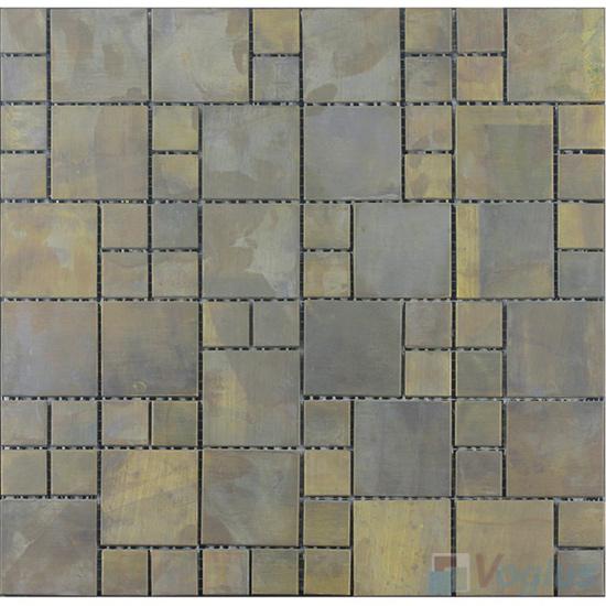 Magic Cube Copper Classic Mosaic Tile VM-CP92