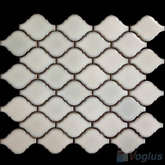 Pearl Jet Cucurbit Shaped Ceramic Mosaic VC-US86