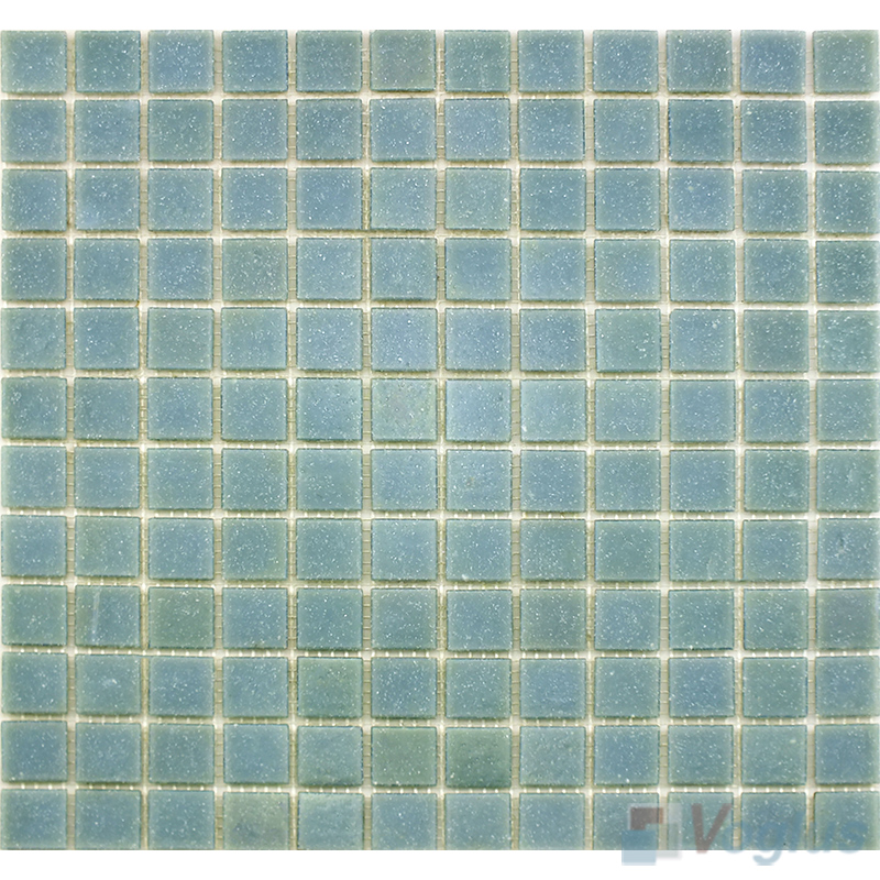 Alice Blue 25x25mm Dot Glass Mosaic VG-DTS98