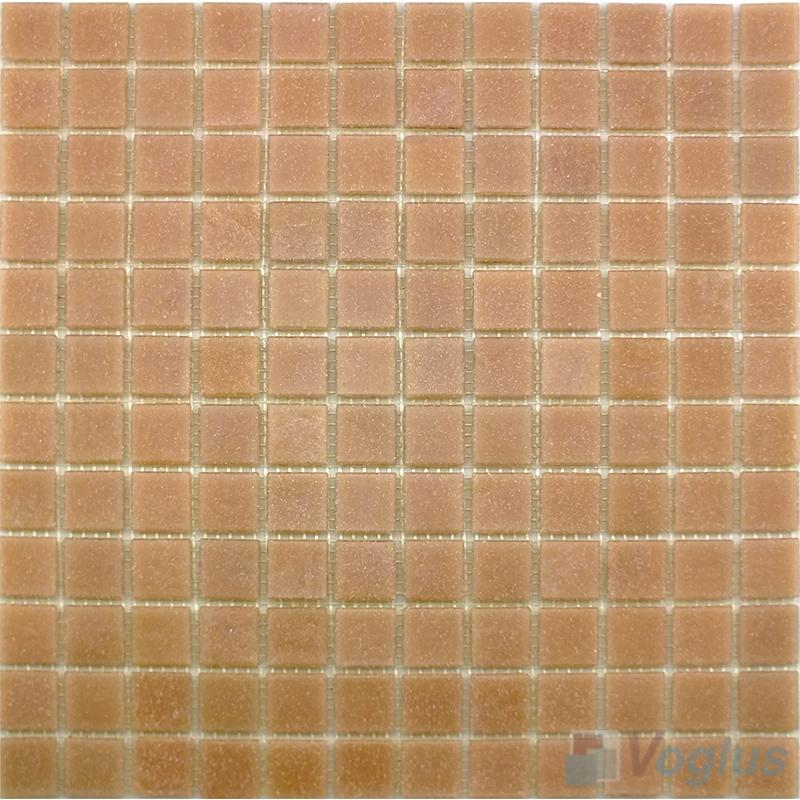 Apricot 25x25mm Dot Glass Mosaic VG-DTS90