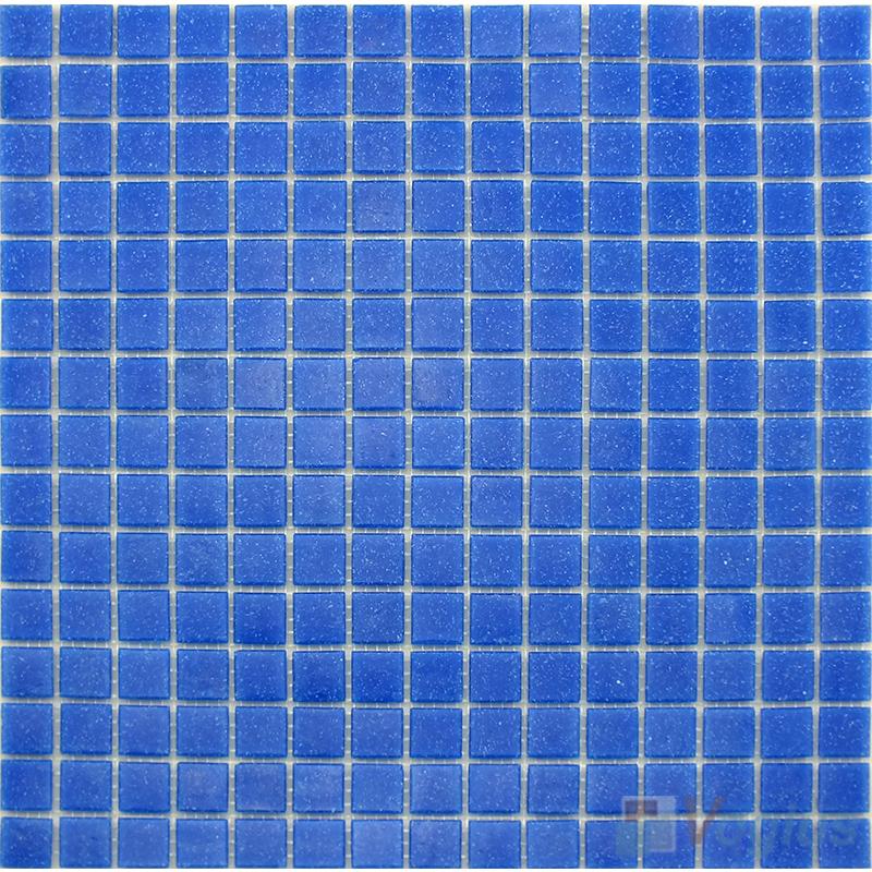 Denim Blue 20x20mm Dot Glass Mosaic VG-DTS92