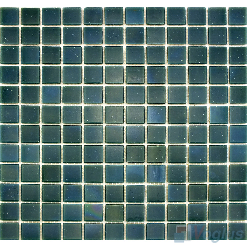 Paly Green 25x25mm Dot Glass Mosaic VG-DTS97