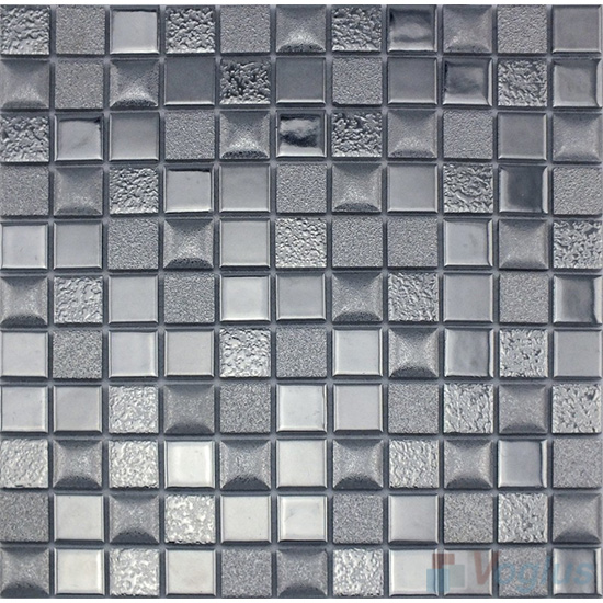 Blue 98x98mm 4x4 inch Swimming Pool Tiles VC-SP97