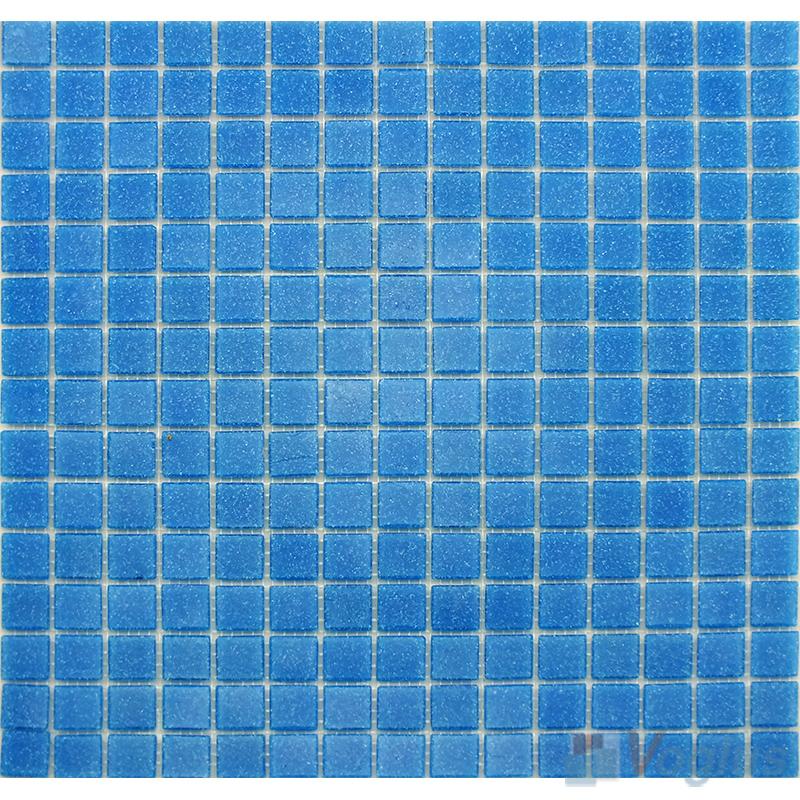True Blue 20x20mm Dot Glass Mosaic VG-DTS93