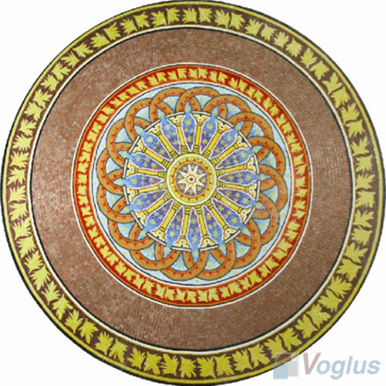 Art Marble Mosaic Medallion VS-AMD85