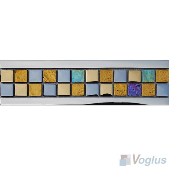 Glass Mosaic Border Line VG-PBD88