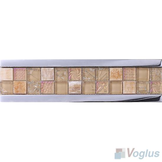 Glass Mosaic Border Line VG-PBD89