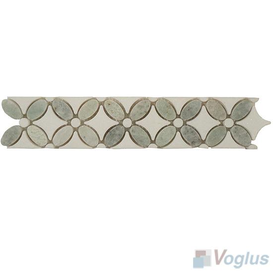 Marble Mosaic Border Line VS-ABD85