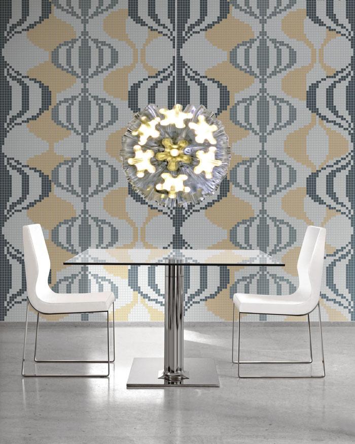 Mosaic Mural Repeated Art Pattern VG-PAR93