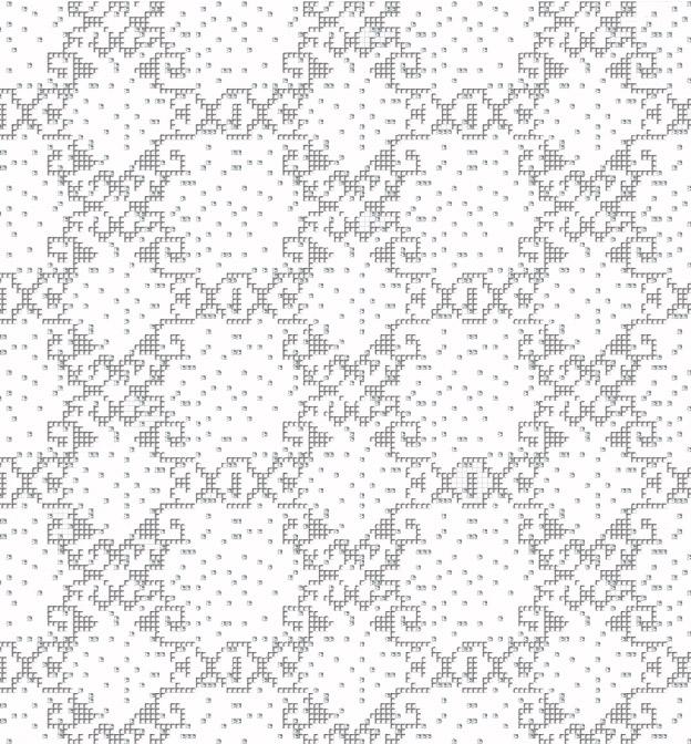 Mosaic Mural Repeated Art Pattern VG-PAR96