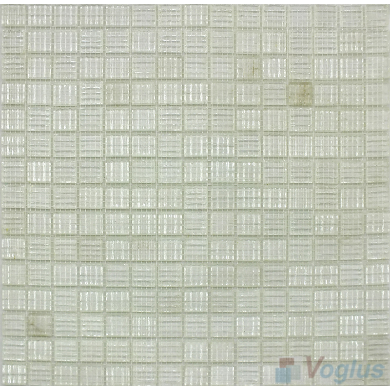Pearl 20x20mm Gold Star Glass Mosaic VG-GLS87