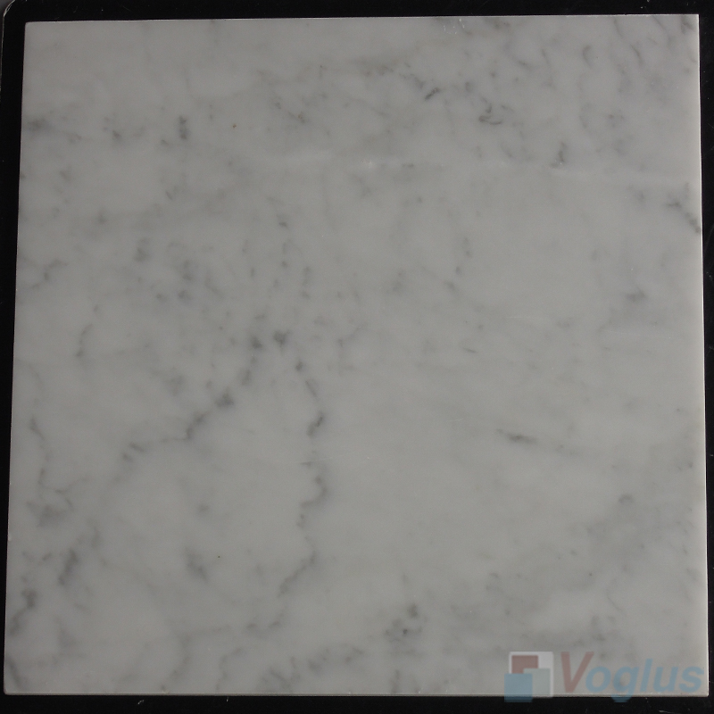 Carrara White 305x305mm 12x12 inch Thin Marble Tile