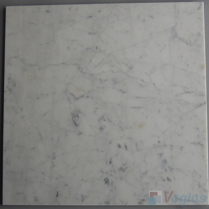 Carrara White 457x457mm 18x18 inch Thin Marble Tile