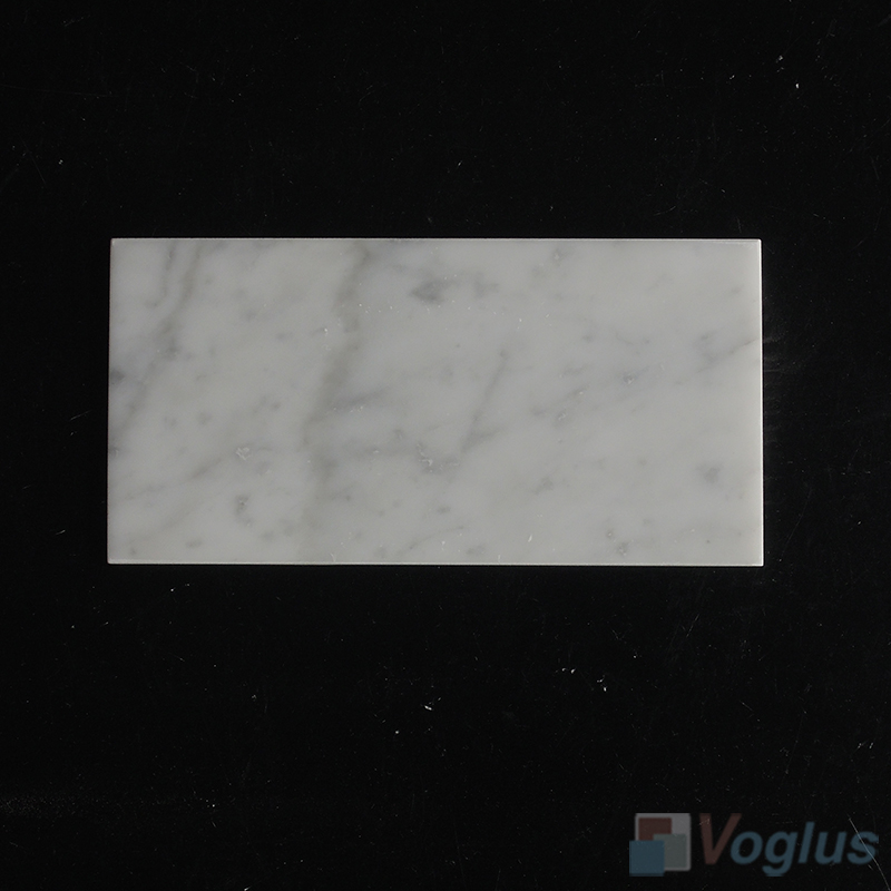 Carrara White 75x150mm 3x6 inch Thin Marble Tile