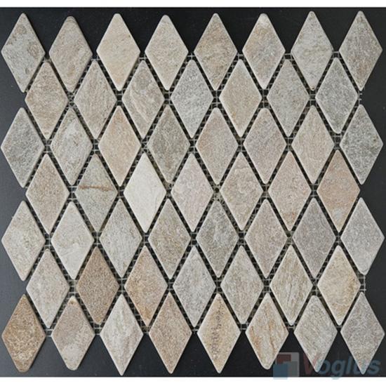 Diamond Quartz Stone Mosaic VS-Q88