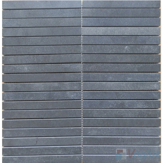 Liner Strip Basalt Stone Mosaic VS-BS90