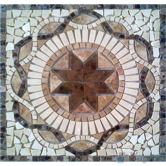 Marble Mosaic Square Medallion VS-ASQ87